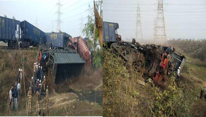 मध्य प्रदेश: दो मालगाड़ियों के बीच आमने-सामने की टक्कर, लोको पायलट समेत 3 की मौत