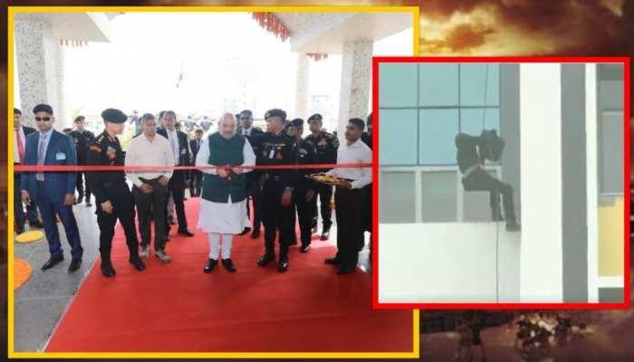 NSG कमांडो ने किया शौर्य का प्रदर्शन! गृहमंत्री अमित शाह ने की जमकर तारीफ