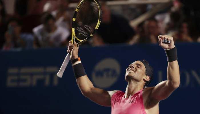 स्पेन के राफेल नडाल ने जीता मैक्सिकन ओपन टेनिस का खिताब