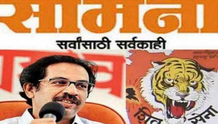 शिवसेना ने सामना के जरिए BJP पर साधा निशाना, लेकिन UP के सीएम की तारीफ में कही ये बात