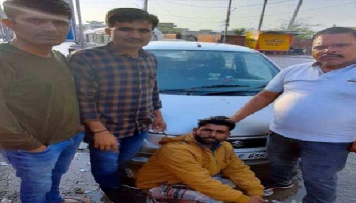 जयपुर पुलिस ने पकड़ा गांजा और स्मेक, 3 महिलाओं सहित सात लोग गिरफ्तार