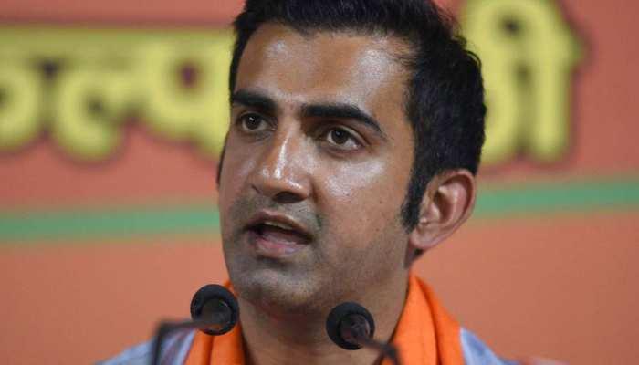 AAP नेता पर भड़के गौतम गंभीर, केजरीवाल की नीयत पर उठाया सवाल
