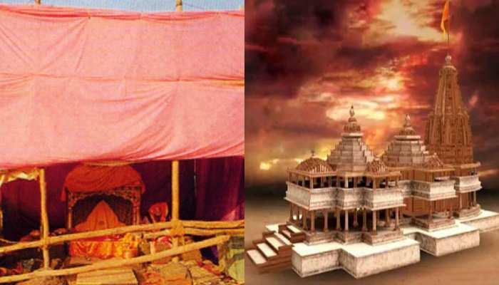 अयोध्या: 'रघुवीरा' ने अवध में खेली होली, वृंदावन से 'बांके बिहारी' ने भेजा रंग