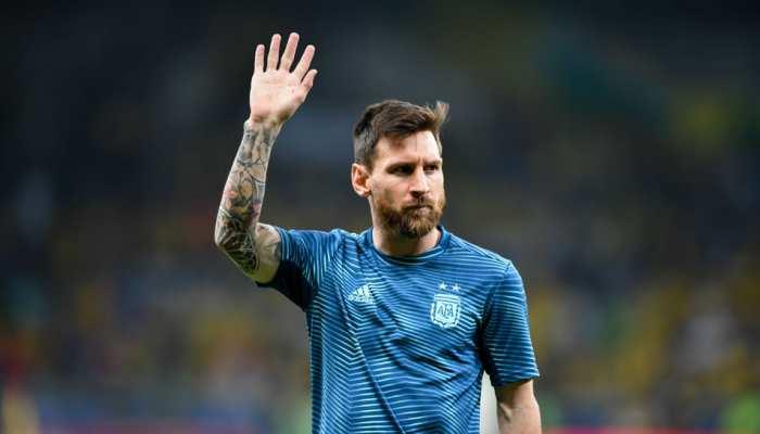 फीफा वर्ल्ड कप 2022 क्वालीफायर्स के लिए अर्जेंटीना टीम में शामिल हुए लियोनेल मेसी