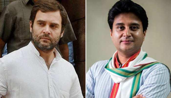 ज्योतिरादित्य के बारे में राहुल गांधी ने कहा, वह इकलौते ऐसे नेता थे जो...