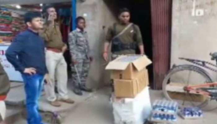 झारखंड: पश्चिम सिंहभूम के एक घर में ड्रग्स के धंधे को लेकर मारी गई रेड, पुलिस के उड़े होश