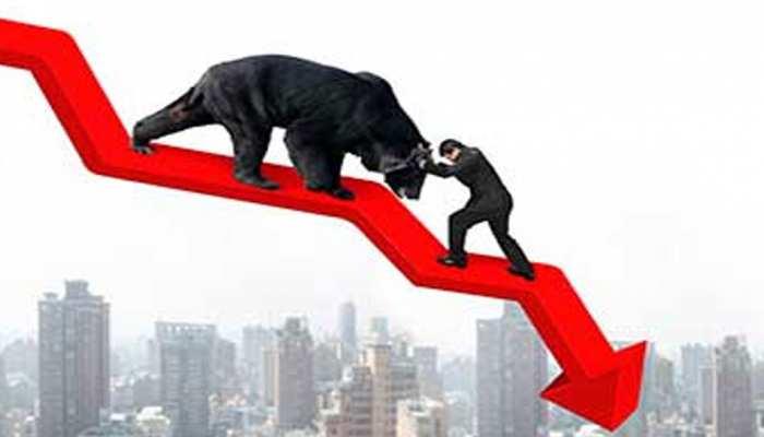 शेयर बाजार में लगी हुई है आग, कमजोर दिल वाले न करें ट्रेडिंग