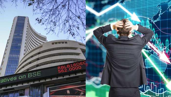 शेयर बाजार में भूचाल, पल भर में डूब गए निवेशकों के 9 लाख करोड़ रुपये