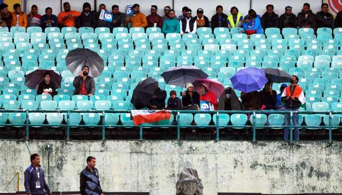 IND vs SA ODI: धर्मशाला में दिन भर चला बारिश का खेल, मैच शुरू होने से पहले ही रद