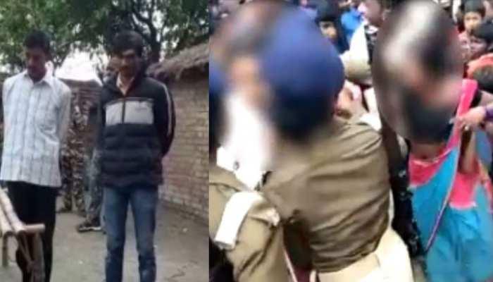 मोतिहारी: अलग-अलग घटनाओं में भीड़ ने की दो युवक-महिला की पिटाई, पुलिस ने बचाई जान