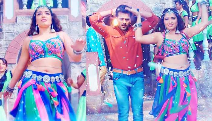 भोजपुरी गानों का RECORD तोड़ने आ गया Khesari Lal और Amrapali का यह VIDEO