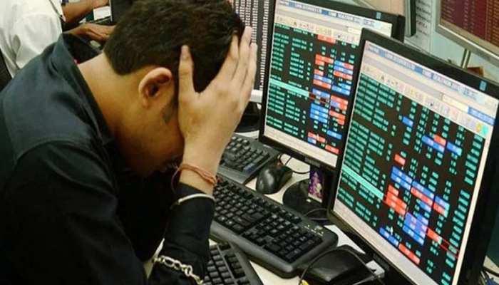 शेयर मार्केट को लगातार चोट कर रहा है कोरोना, सेंसेक्स 2700 अंक गिरकर बंद