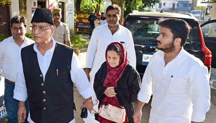 समाजवादी पार्टी का आरोप- BJP ने मुस्लमानों को डराने के लिए आजम खान को भेजा जेल