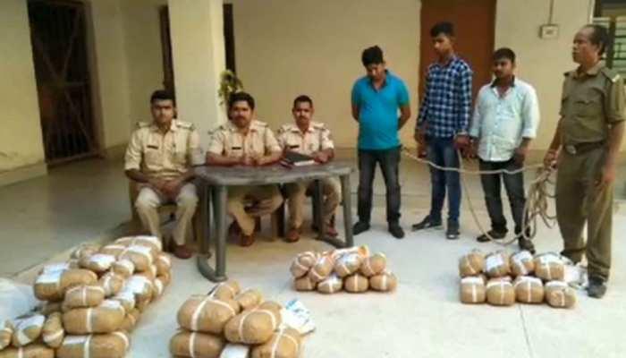 झारखंड पुलिस को मिली बड़ी कामयाबी, घाटशिला में 81 किलो गांजा के साथ तस्कर अरेस्ट