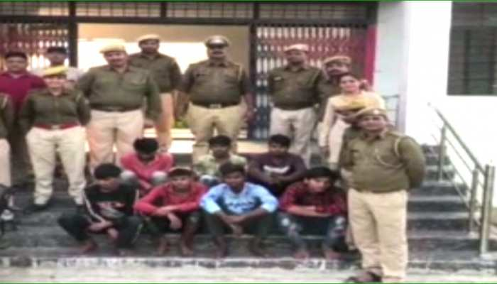 बांसवाड़ा: बिना नंबर की बाइक से लूटपाट करते थे बदमाश, पुलिस ने 7 को धर दबोचा