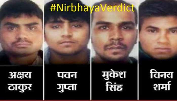 Nirbhaya Justice:7 साल बाद मिला इंसाफ , निर्भया के मुजरिमीन को फांसी पर लटकाया