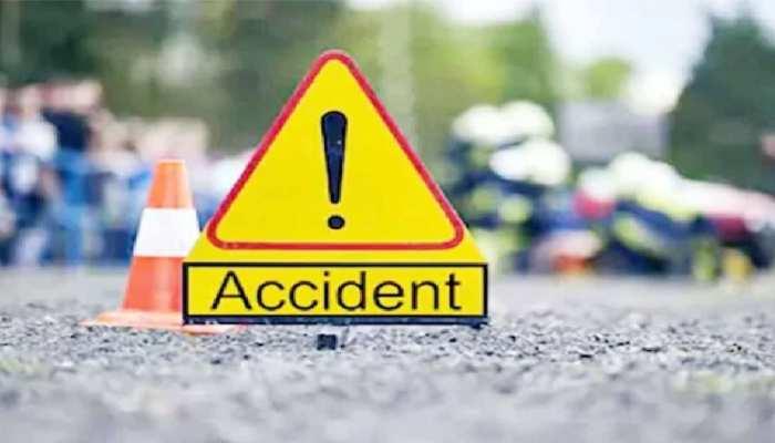 नागौर: पिकअप और ट्रेलर में भिड़ंत, हादसे में एक व्यक्ति जिंदा जलकर हुआ खाक