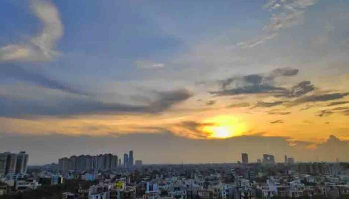 कोरोना वायरस: लॉकडाउन और कर्फ्यू का दिखा असर, दिल्ली में दिखने लगे नीले आसमान, हवा हुई साफ