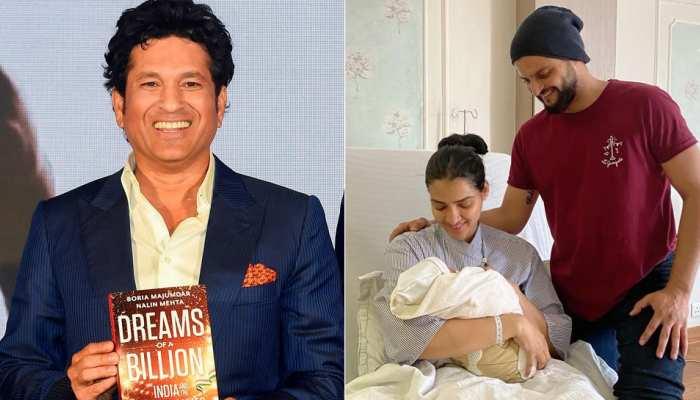 पिता बनने की बधाई देने पर सुरेश रैना ने सचिन तेंदुलकर को कहा शुक्रिया
