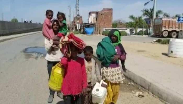 लॉक डाउन से बढ़ीं गरीबों की मुश्किलें कहा, कोरोना बीमारी से पहले भूख से मर जाएंगे