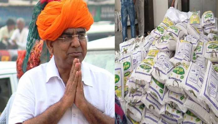 राजस्थान: MLA ने खाद्य सामग्री वितरण के लिए वाहन को दिखाई हरी झंडी, कहा...