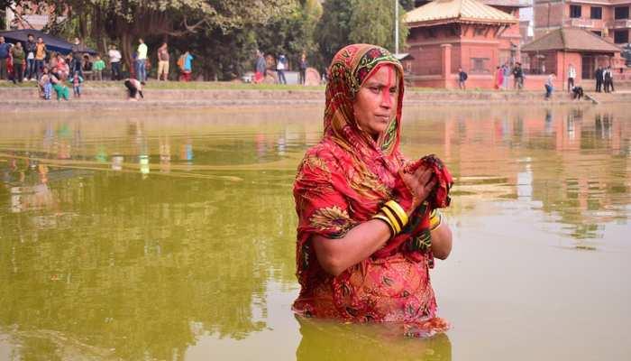 बिहार: शुरु हुआ आस्था का महापर्व 'चैती छठ', नीतीश कुमार ने दी शुभकामनाएं