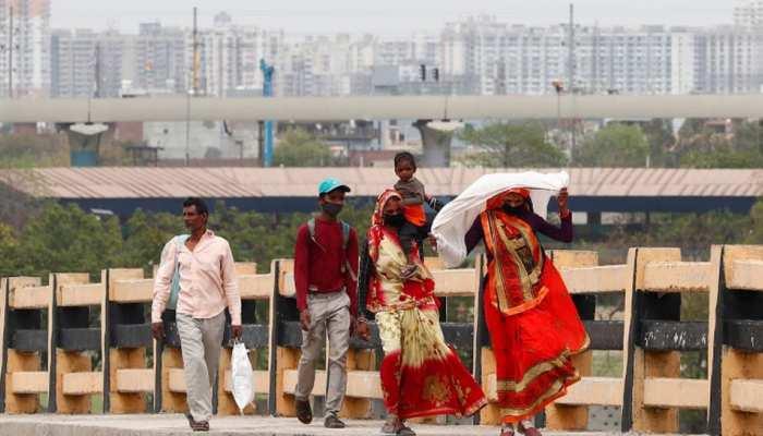 LOCKDOWN :मजदूरों की मदद को आगे आया प्रशासन, घर पहुंचाने के लिए बसें रवाना