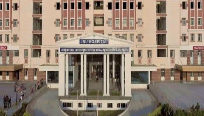 राजस्थान: Corona का केस पॉजिटिव मिलने के बाद JNU हॉस्पिटल को कराया गया खाली