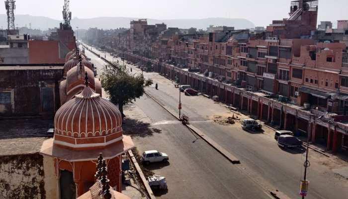 जयपुर: कर्फ्यूग्रस्त चारदीवारी क्षेत्र में की गई डोर टू डोर सामान की आपूर्ति, डीएम बोले...