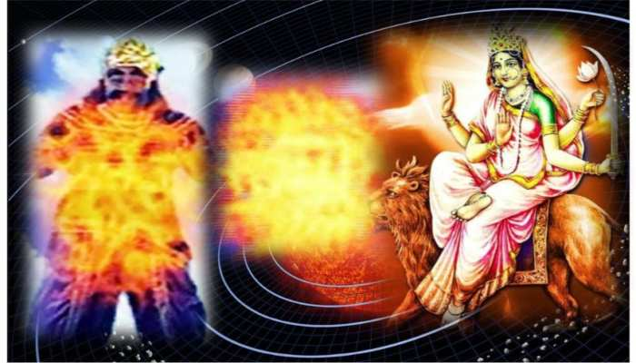 नवरात्र विशेषः जानिए, कैसे देवी कात्यायनी ने किया धूम्रलोचन का वध