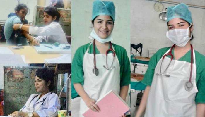 Shikha Malhotra becomes a nurse to help Corona patients, see viral pics