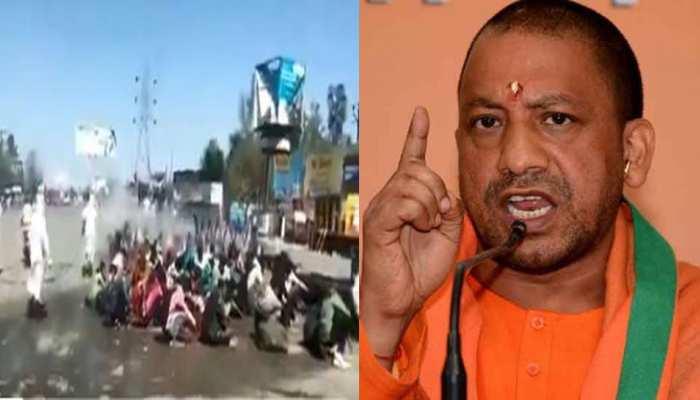 बरेली में मजदूरों पर केमिकल के छिड़काव से CM योगी नाराज, कार्रवाई के दिए आदेश