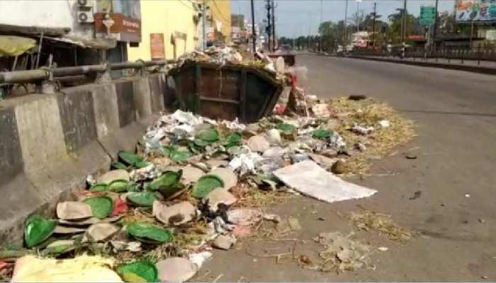 झारखंड: सड़कों पर लगा गंदगी का अंबार, ऐसे में Corona पर कैसे होगा वार