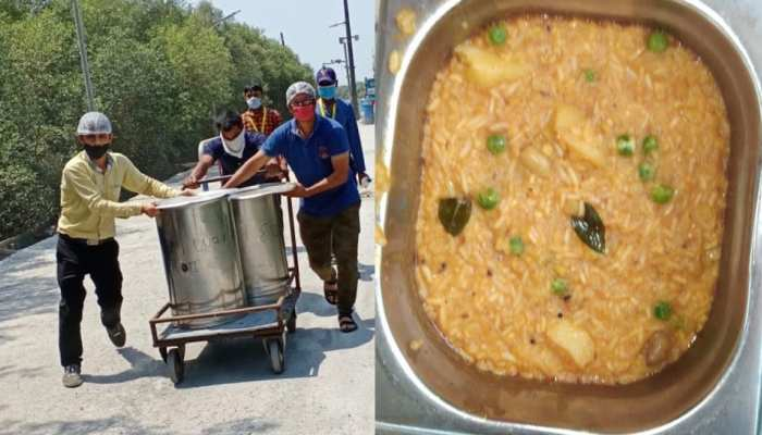 Zee groups Esselworld serving food to advasis and daily wagers amid lockdown due to COVID 19
