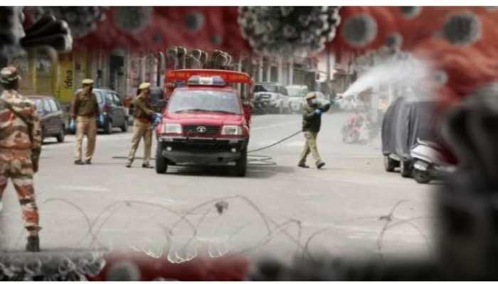 कश्मीर में कोरोना का खतरा बढ़ा, मूवमेंट पर सख्ती से रोक, 25 गांव रेड जोन में आए