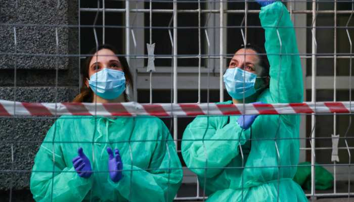 स्पेन में पिछले 24 घंटे में 637 की मौत, स्वास्थ्य मंत्रालय ने इस मामले में ली राहत की सांस