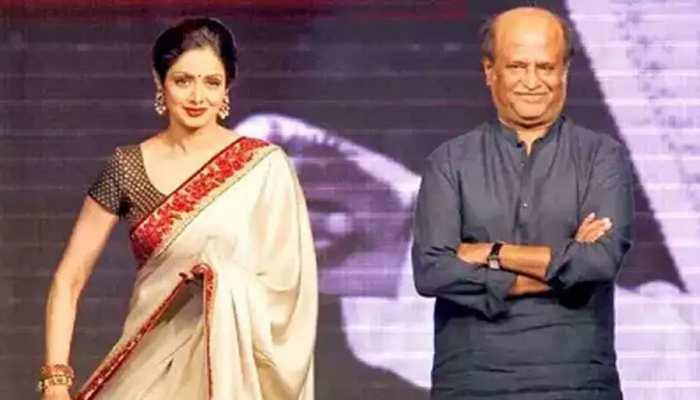 महज 13 साल की उम्र में Sridevi बनी थीं Rajinikanth की ऑनस्क्रीन मां, इतनी मिली थी फीस