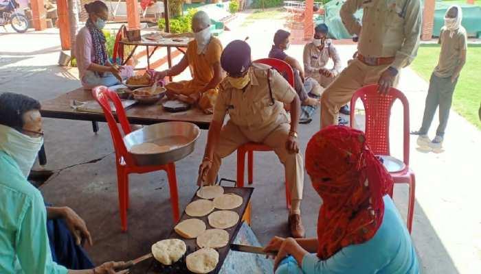 ड्यूटी पर तैनात पुलिसकर्मियों के लिए महिला SI ने शुरू किया कम्युनिटी किचन, मिल रही तारीफ