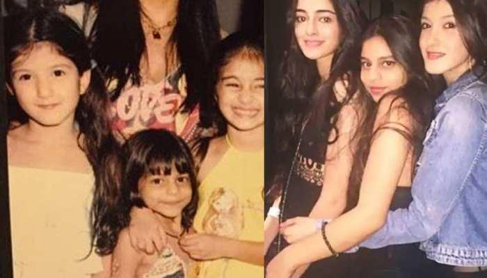 Childhood pictures of Suhana Khan, Ananya Pandey and Shanaya Kapoor