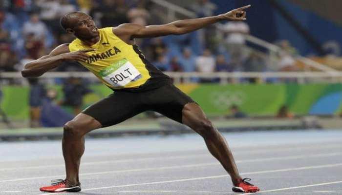 दुनिया में सबसे तेज दौड़ने वाले इंसान ने मजेदार तरीके से दिया सोशल डिस्टेंसिंग का संदेश, देखिए तस्वीर