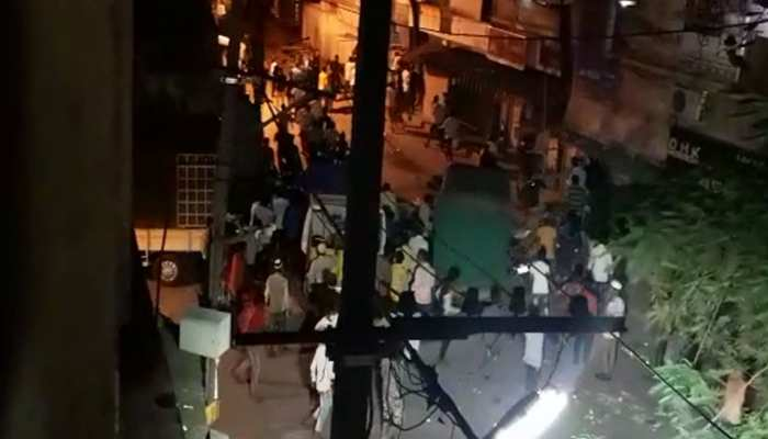 People attacked on BBMP workers in Padarayanapura COVID 19