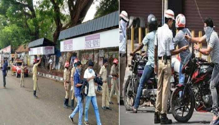Lockdown:छूट को लेकर केरल हुकूमत से नाराज़ मरकज़ी हुकूमत,सैकड़ों की तादाद पर सड़कों में निकले लोग