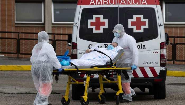 स्पेन में पहली बार कोरोना से एक दिन में मौतों की संख्या हुई 400 से कम