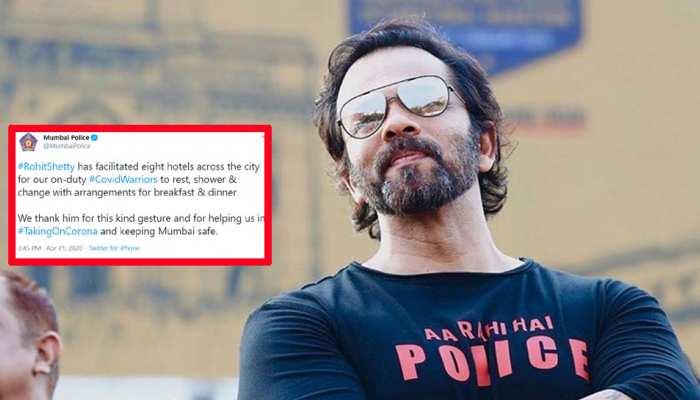 Coronavirus: अब रोहित शेट्टी ने दिखाई ऐसी दरियादिली, मुंबई पुलिस ने ट्वीट कर कहा- 'शुक्रिया'