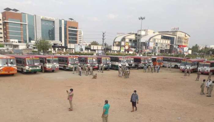 कोटा से मध्य प्रदेश रवाना हुए 14 सौ छात्र, सरकार ने भेजी विशेष बसें
