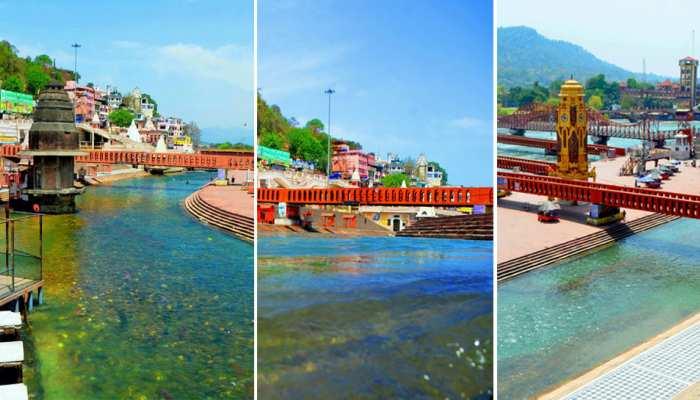 Lockdown में पहले से और ज्यादा साफ हुई Ganga, नजर आए ये बड़े बदलाव