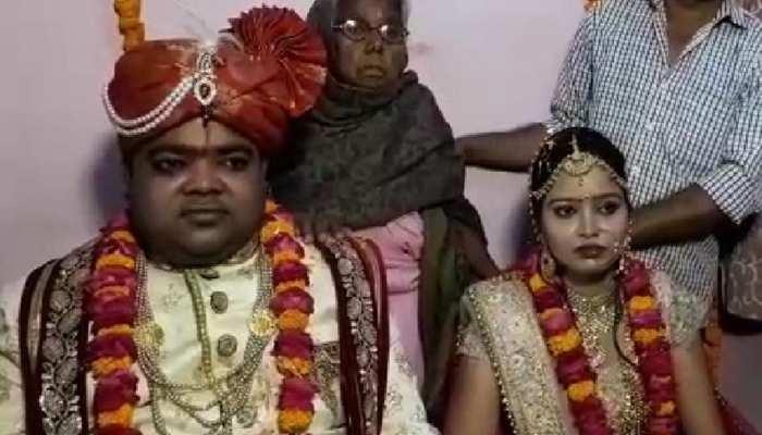 सीतापुर: दादी का सपना पूरा करने के लिए सिर्फ 10 लोगों की मौजूदगी में संपन्न हुई शादी