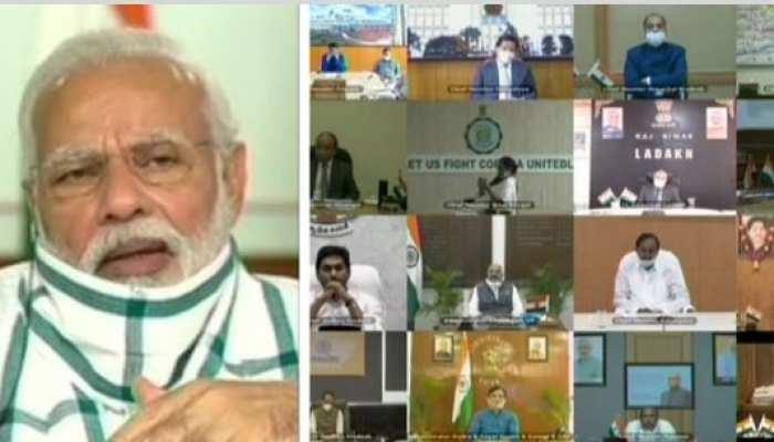 पीएम मोदी की सभी राज्यों के मुख्यमंत्रियों के साथ बैठक