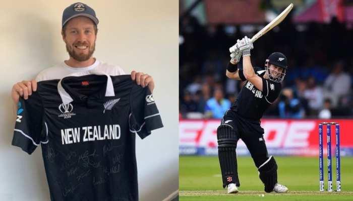 वर्ल्ड कप फाइनल की जर्सी दान करेंगे न्यूजीलैंड के ये क्रिकेटर, जानिए कौन हैं वो