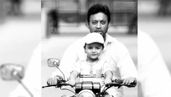 Irrfan Khan के छोटे बेटे Ayaan ने शेयर की पिता के साथ तस्वीर, लिखा इमोशनल पोस्ट